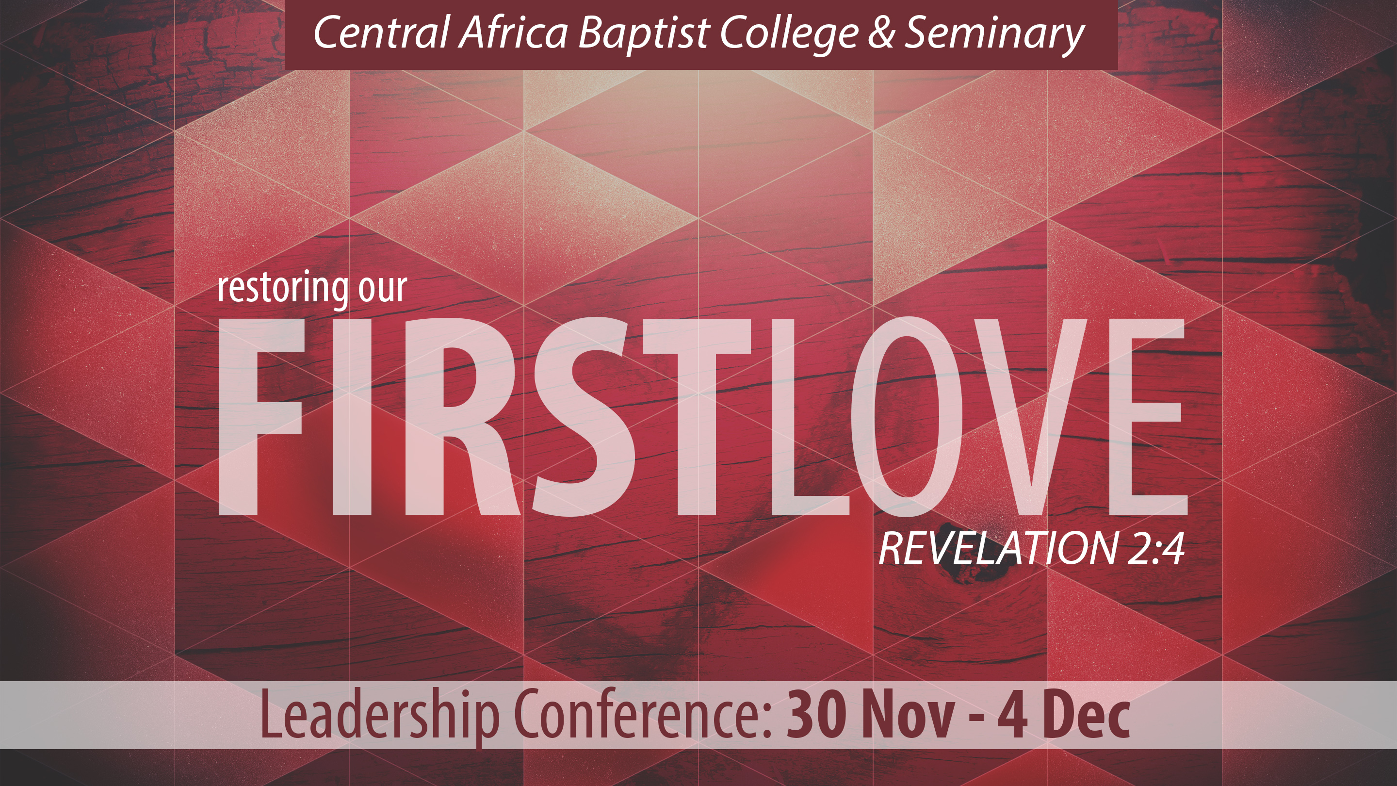 First Love Conference